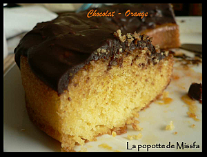 Gateau au chocolat et пїЅ l orange