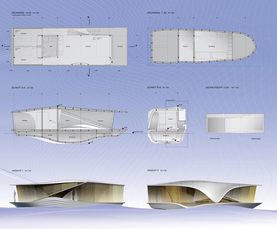 The last resort un concept de maison flottante for Maison flottante