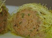 Boulettes viande habit Konafa C'est moelleux croustille