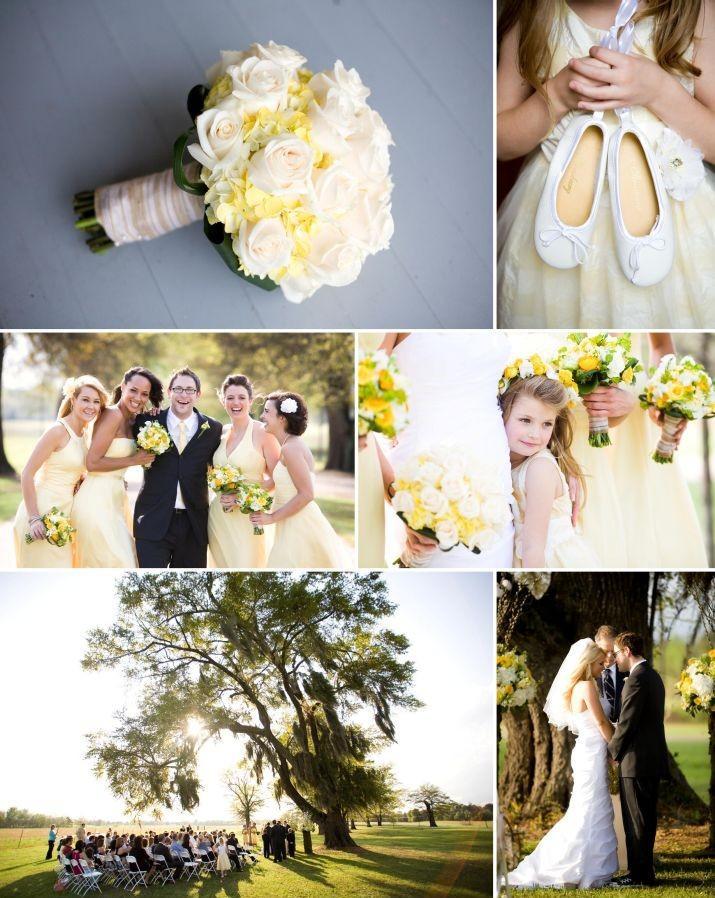 Vrai mariage jaune theme citron et bonbons - Paperblog