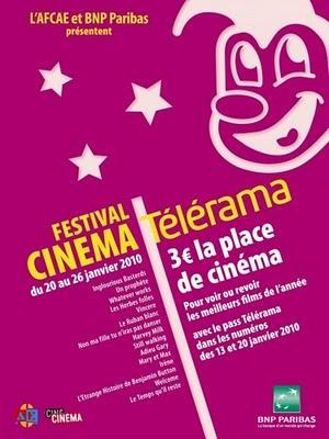 Le Festival Télérama 2010 est lancé.