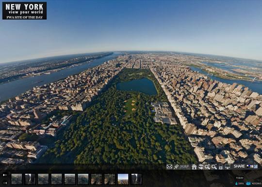 Central Park vu du ciel | À Voir