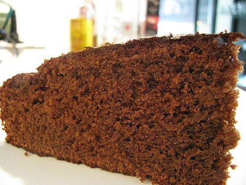 Gateau au chocolat noir leger
