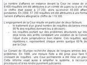 juin 2010: entrée vigueur Protocole n°14 réformant Cour