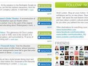 marques luxe prennent d'assault Foursquare
