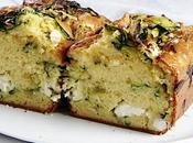 Cake fraîcheur courgettes