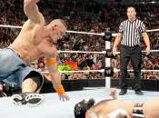 John Cena blessé