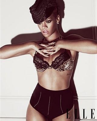 Rihanna en couv de Elle US en juillet