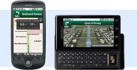 google maps navigation la solution gps gratuite pour mobile paperblog. Black Bedroom Furniture Sets. Home Design Ideas