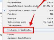 Google Chrome, chez lui…c'est pareil