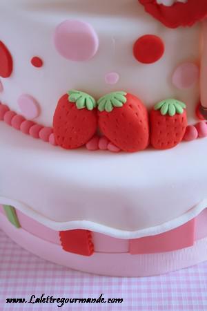 Le gâteau Charlotte aux fraises