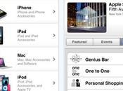 Apple lance application pour boutique ligne Store
