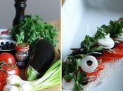 Rôti poisson saveurs méditeranéennes purée d'aubergine