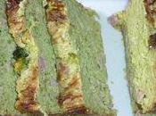 Flan brocolis jambon coriandre