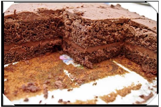 Recette Sponge Cake Et Mousse Au Chocolat