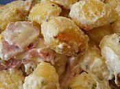 Gnocchis jambon boursin (recette express)