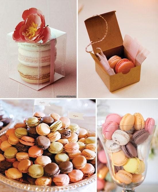 Présentation des macarons: pour rêver