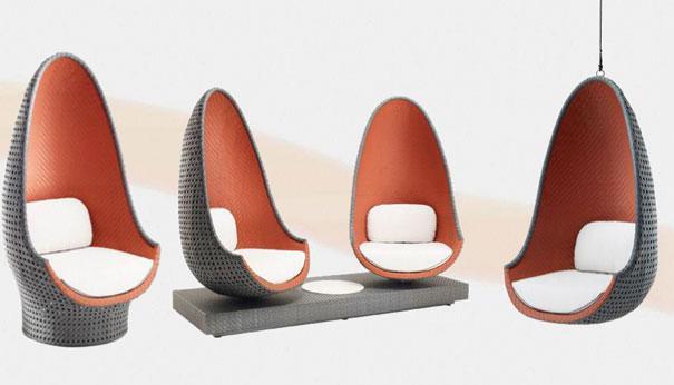 play un fauteuil de philippe starck pour dedon paperblog. Black Bedroom Furniture Sets. Home Design Ideas