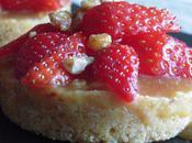 Tartelette caramel fraises