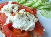 Tartines tomate chevre herbes provence