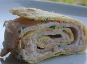 Wrap léger blanc poulet rillette thon (version dukan)