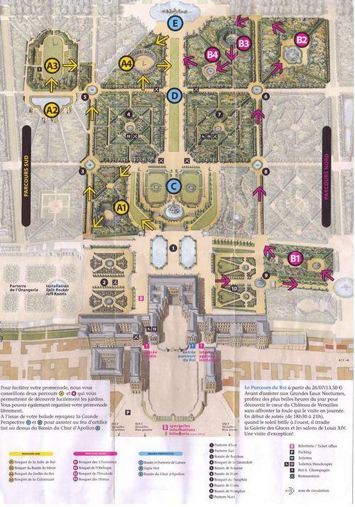 Visiter les jardins du chateau de versailles voir - Visiter les jardins du chateau de versailles ...