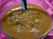 soupe froide melon fêta