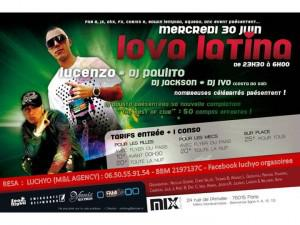 Le Mix Club vous propose LOVA LATINA 2