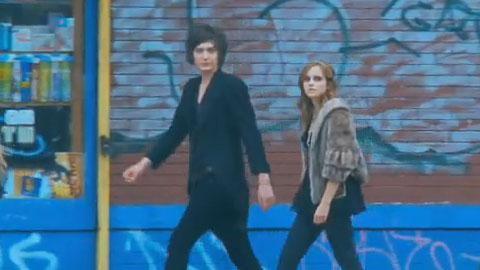 Emma Watson ... Elle tourne dans le clip de son nouveau petit ami ... Georges Craig