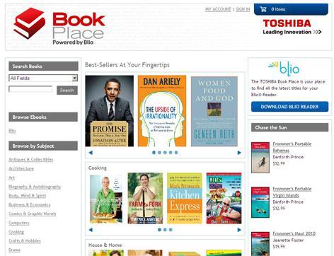 Toshiba choisit Blio pour sa librairie numérique
