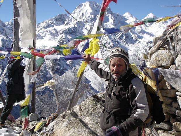 Ascension du Tsergo-Ri, Népal