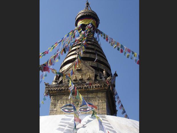 Temple de Swayambunath, Katmandou, Népal