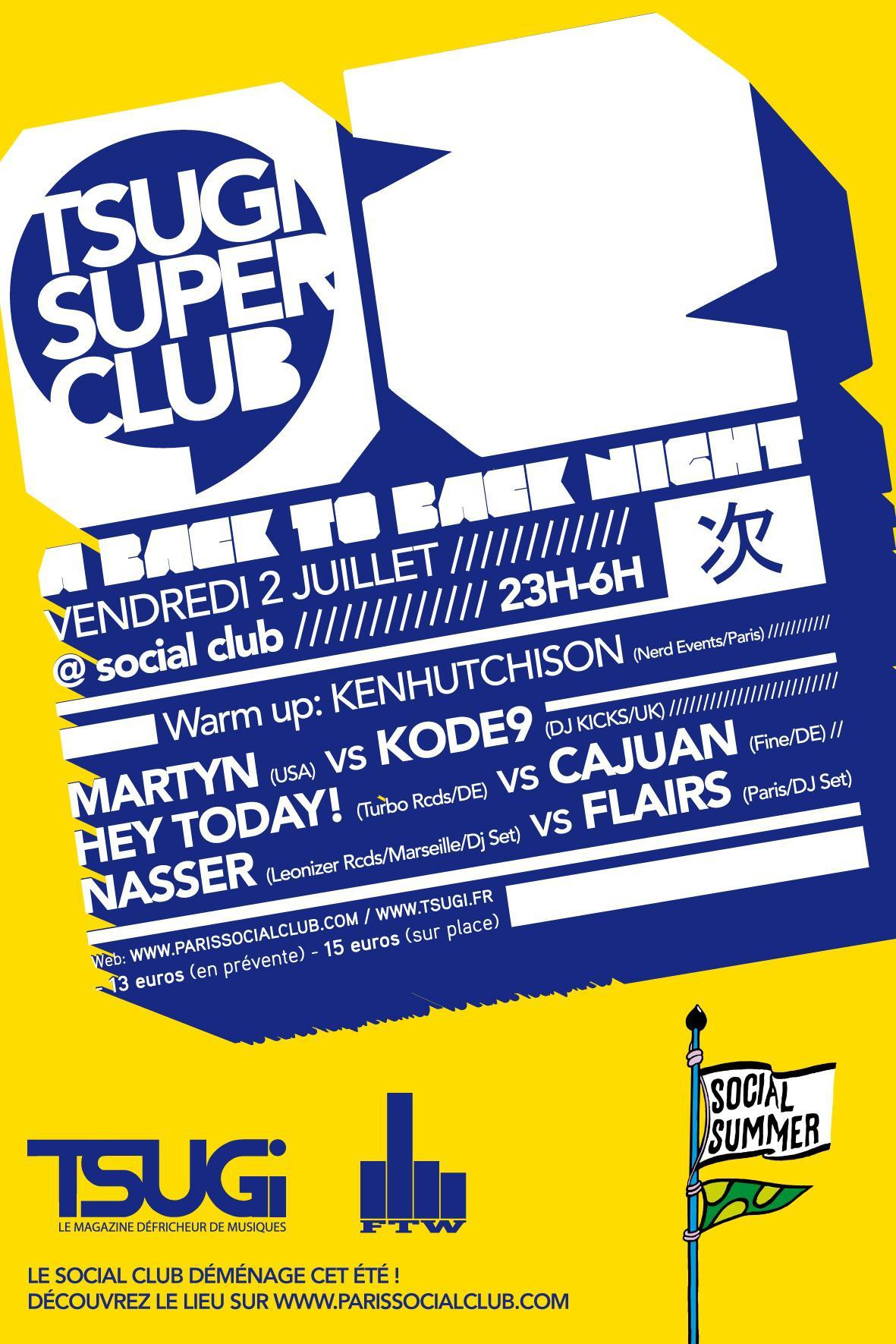 Social Summer - Tsugi Superclub - Bon Appétit