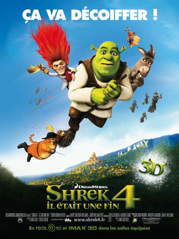 Critique Cinéma: Shrek 4, il était une fin