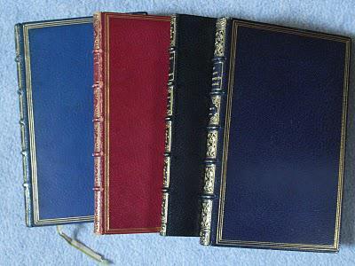"""Les différents styles de reliure: La reliure de conservation bibliophile """"second empire"""""""