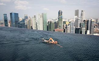 Le Marina Bay Sands et sa piscine Sands SkyPark