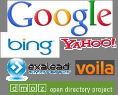 Mémo : les URL pour soumettre un site à Google, Yahoo!, Bing et les autres