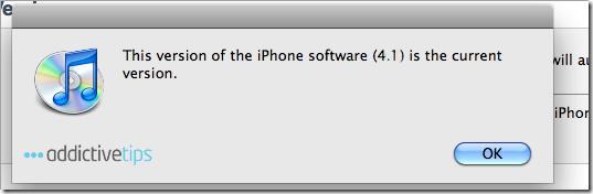 iOS 4.1 pour iPhone 4 confirmé, arrivée imminente !