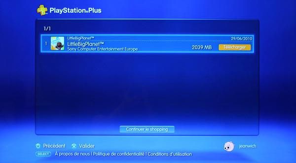 Playstation Plus - Little Big Planet