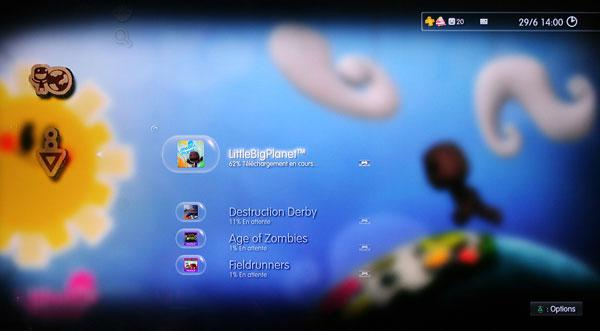 Playstation Plus - Le thème dynamique de Little Big Planet
