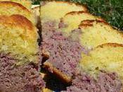 Cake Cassis-Vanille