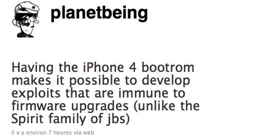 iPhone 4: Jailbreak en très bonne voie et bonnes nouvelles !