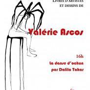 Livres d'artistes : exposition  de Valérie Ascos le 3 juillet