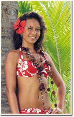 Miss Tahiti 2010 : un corps de Monoï