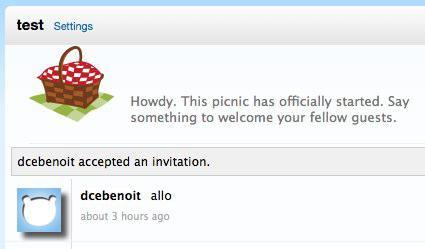 picnic 1 Créer un salon de tchat privé avec Picnic