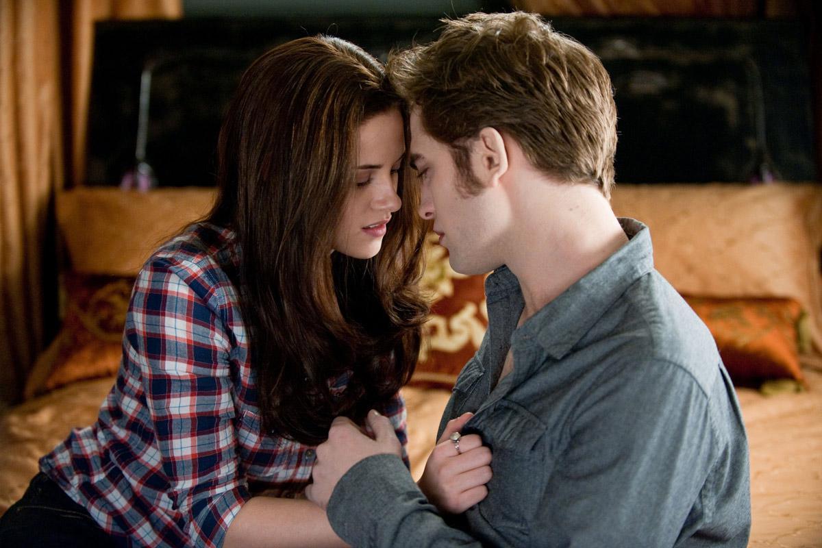 Robert Pattinson et Kristen Stewart. SND