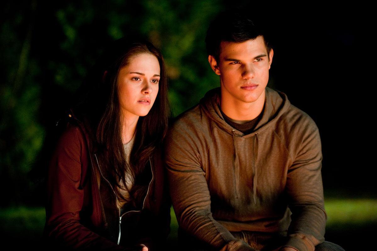 Taylor Lautner et Kristen Stewart. SND