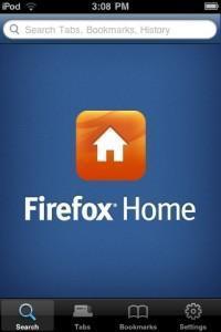Firefox Home bientôt sur iPhone...