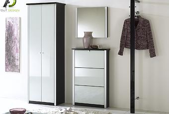 penderie vestiaire entree. Black Bedroom Furniture Sets. Home Design Ideas
