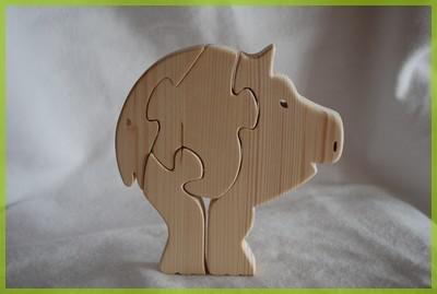 chantournage puzzle cochon blog